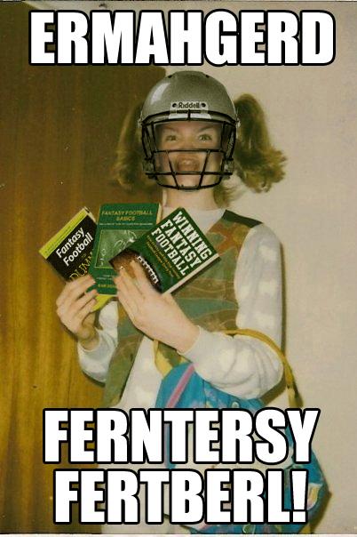 omghelmet i am catty about fantasy football