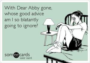 dear abby