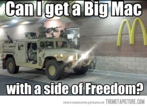 funny-soldiers-American-McDonalds-drive-through