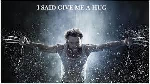 wolverine hug