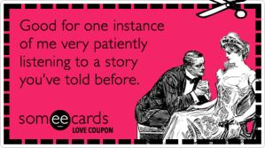 vday patience